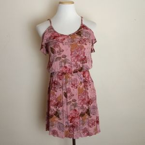 Mossimo Off Shoulder Blush Floral Sundress Small